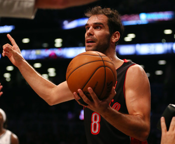 Jose Calderon is a veteran Raptor still searching for some direction for his team.