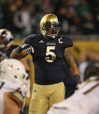 Te'o is the Fighting Irish's leader