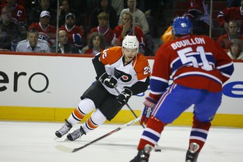 Patrick Thoresen, then of the Philadelphia Flyers.