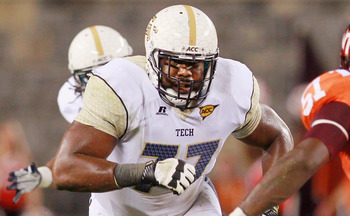 Omoregie Uzzi: Offensive Guard from the Georgia Tech Yellow Jackets