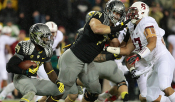 Kyle Long: Offensive Tackle from the Oregon Ducks