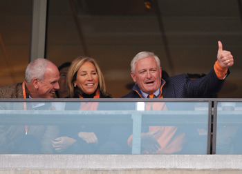 Browns owner Jimmy Haslam (right) hoping for a much better record under his regime in 2013
