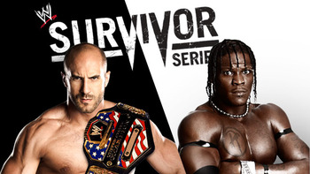 Antonio Cesaro vs. R-Truth