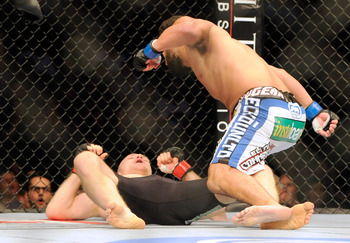 Kampmann fell from the number four spot after getting quickly knocked out by Johny Hendricks.