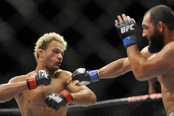Josh Koscheck's wrestling has kept him among the best in the welterweight division for years now.