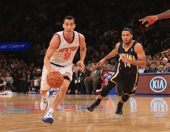 With Shumpert joining the backcourt, Prigioni's role may diminish greatly.
