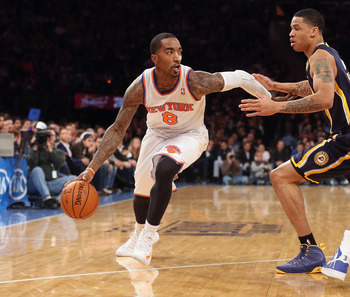 The Knicks have an unstoppable offense with J.R. Smith and 'Melo on the floor.