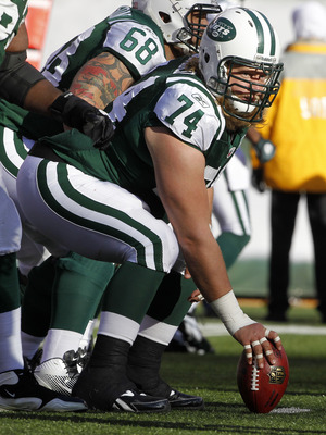 Mangold anchored an offensive line that set the tone in St Louis.