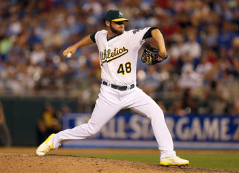 Ryan Cook was the A's All-Star representative.