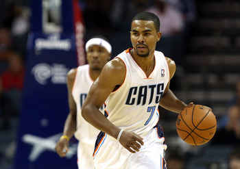 CHARLOTTE, NC - NOVEMBER 13:  Ramon Sessions #7 of the Charlotte Bobcats during their game at Time Warner Cable Arena on November 13, 2012 in Charlotte, North Carolina.  NOTE TO USER: User expressly acknowledges and agrees that, by downloading and or usin