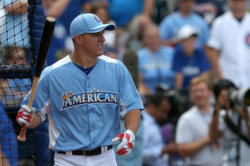 Mike Trout at the 2012 All-Star Game.