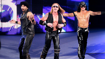3MB strutted into the Survivor Series pre-show against Team Cobro donning full leather outfits. Photo Courtesy of WWE.com