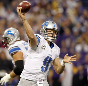 The Lions will lock up Stafford this offseason.
