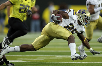 UCLA RB Damien Thigpen will miss the rest of the season