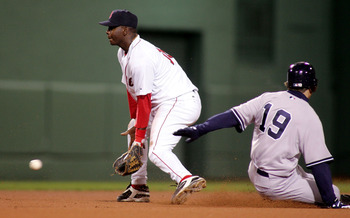 Edgar Renteria made a career high 30 errors at shortstop in 2005 with Boston.