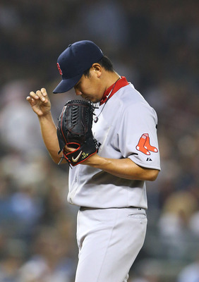 Dice-K was rocked in his final Red Sox start and the final four seasons of his career with Boston.