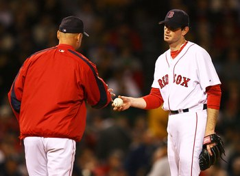 Matt Clement posted a 6.61 ERA and 1.76 WHIP in his final season with the Red Sox.