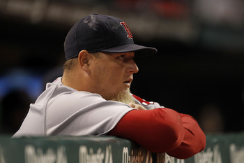 Bobby Jenks didn't convert one save with the Red Sox.