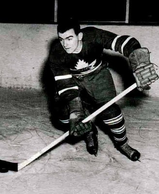 Tod Sloan helped the Leafs get to their fourth Stanley Cup in five years with his goal-scoring abilities.