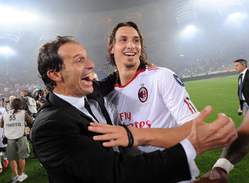It seems like it's been a while since anyone was this happy at Milan