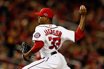 A return to Washington seems unlikely, but Edwin Jackson could still wear red in D.C. next year.