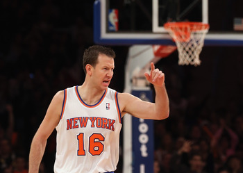 Steve Novak is in the middle of his first slump as a Knick.