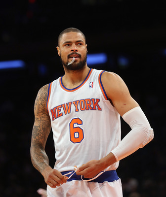 Tyson Chandler is one Knick that hasn't gotten to the line enough this year.