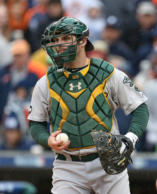 The A's could choose to be more patient with Derek Norris and add a catcher.