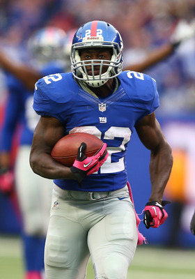 We saw a flash of David Wilson's potential against the Browns, he needs to replicate that in the coming weeks.