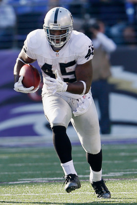 Marcel Reece, RB, Oakland Raiders