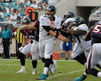 Chad Henne was able to spark some life into the Jacksonville offense this week