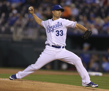 Jeremy Guthrie turned around his 2012 season after a trade from Colorado to K.C.