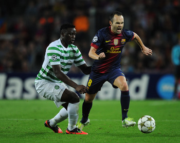 The Making of the Man: Wanyama takes on Iniesta & Barcelona