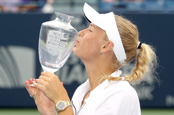 Wozniacki has won two titles in 2012.