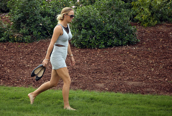Wozniacki has raked in the cash off the court