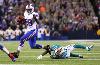 C.J. Spiller made a number of Dolphins tacklers miss on Thursday Night Football.