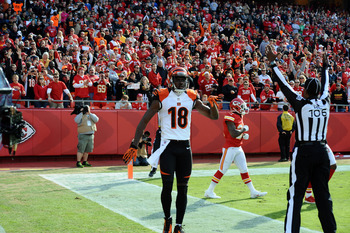 A.J. Green continues his touchdown streak.