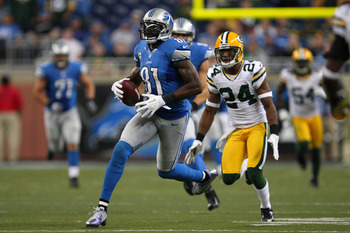 Calvin Johnson is ranked as the No. 1 wide receiver in 2012.