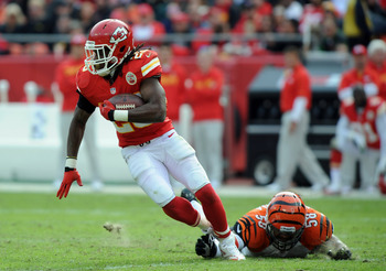 Jamaal Charles is looking for a 1,000-yard-plus season.