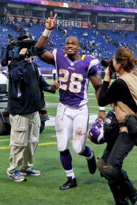 NFL leading rusher Adrian Peterson has made a remarkable recovery.