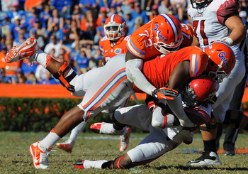 The Gators defense has held up its end of the bargain, performing well while the offense has struggled.