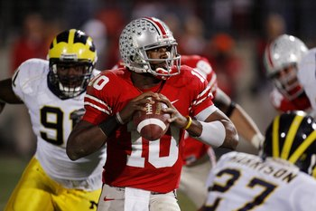 Ohio State QB Troy Smith