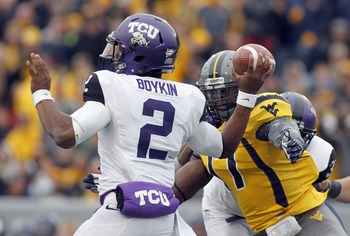 Success on the ground will make things much easier on the freshman Boykin.