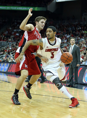 Siva is the floor general of the No. 2 Louisville Cardinals.