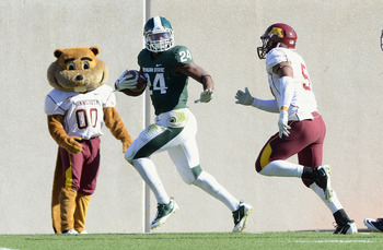 Michigan State won last year's meeting 31-24 in East Lansing.