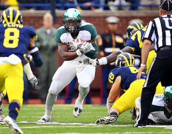 Le'Veon Bell is MSU's player to watch and the key to the game's result.