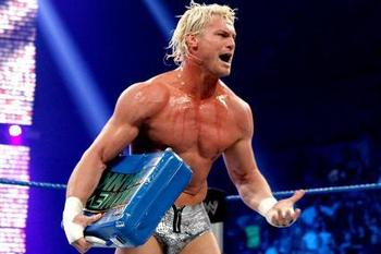 Dolph Ziggler won the briefcase at Money in the Bank in July. Photo courtesy: Wrestling Match