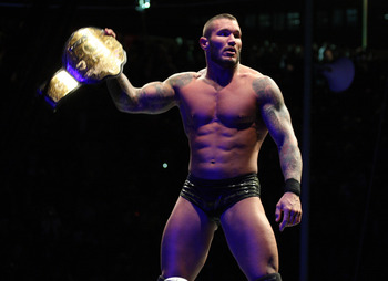 Randy Orton had two World title reigns in 2011.