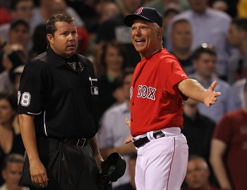 Kevin Youkilis will not have to deal with Bobby Valentine as the team manager if he were brought back.