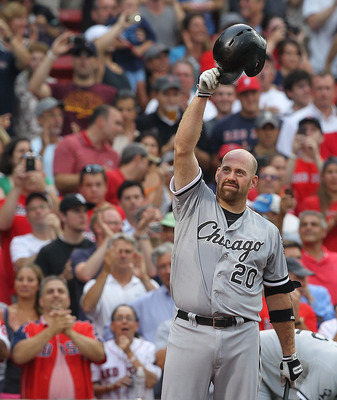 Kevin Youkilis received a loud standing ovation from the Fenway Faithful before his first at bat as an opposing player in Boston.